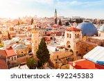 jerusalem  israel   march 09 ...   Shutterstock . vector #492245383