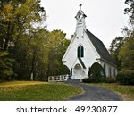 Beautiful Little Church In The...
