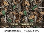 Vector Camouflage Pattern...