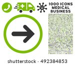 arrow right icon with 1000... | Shutterstock .eps vector #492384853