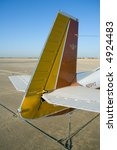 The Tail Section Of A Mooney M...