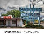 truxton  arizona  usa   may 18  ... | Shutterstock . vector #492478243