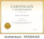certificate template for