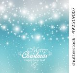 vector christmas colorful... | Shutterstock .eps vector #492519007