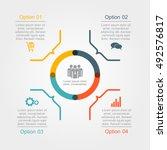 infographic design template... | Shutterstock .eps vector #492576817