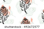 hand drawn vector graphic... | Shutterstock .eps vector #492672577