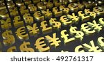 currency investment and... | Shutterstock . vector #492761317