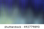 a beautiful crossed pattern or... | Shutterstock . vector #492779893