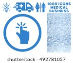 click icon with 1000 medical...