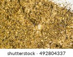 Small photo of Honey bee beehive residue mixed with pollen and dead varroa acarid