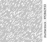 seamless diagonal line pattern. ... | Shutterstock .eps vector #492862933