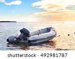 Inflatable Boat With A Motor I...