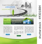 web page design suitable for...   Shutterstock .eps vector #49301884