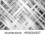 abstract illustration grey... | Shutterstock . vector #493026307