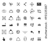 social network icon   Shutterstock .eps vector #493135387