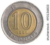 Ten Hong Kong Dollar Coin...
