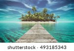 Landscape Of A Pontoon In The...