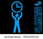 time champion pictograph with... | Shutterstock .eps vector #493203133