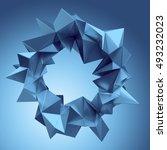 3d render  digital illustration ... | Shutterstock . vector #493232023