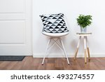 simple decor objects ... | Shutterstock . vector #493274557
