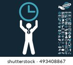 time champion pictograph with... | Shutterstock .eps vector #493408867