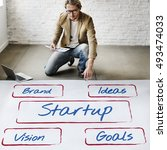 Small photo of Startup Business Action Plan Solution Words Concept
