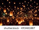 chiang mai  thailand   october...   Shutterstock . vector #493481887