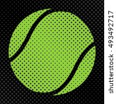sports background ball for the... | Shutterstock .eps vector #493492717