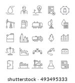 set vector line icons with open ...   Shutterstock .eps vector #493495333