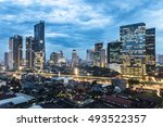 Twilight Over Jakarta Business...
