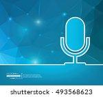 abstract creative concept... | Shutterstock .eps vector #493568623
