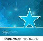 abstract creative concept... | Shutterstock .eps vector #493568647