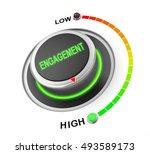 engagement button position.... | Shutterstock . vector #493589173