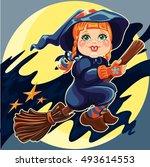 vector illustration of sweet...   Shutterstock .eps vector #493614553
