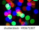 bokeh many colors  background... | Shutterstock . vector #493671307