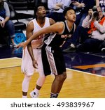 kyle anderson forward for the... | Shutterstock . vector #493839967