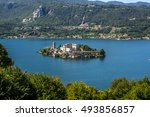Overview Of Lake Orta With The...
