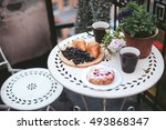 Breakfast Pastries With Tea An...