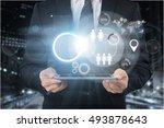 business. | Shutterstock . vector #493878643