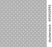 seamless polka dot pattern.... | Shutterstock .eps vector #493933993