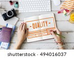 high quality brand exclusive... | Shutterstock . vector #494016037