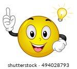 mascot illustration of an... | Shutterstock .eps vector #494028793