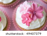 wedding cupcake | Shutterstock . vector #49407379
