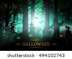 halloween. | Shutterstock .eps vector #494102743