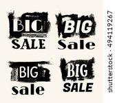 big sale  grunge vector big
