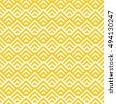 pattern stripe seamless orange... | Shutterstock .eps vector #494130247