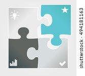 vector illustration of modern... | Shutterstock .eps vector #494181163