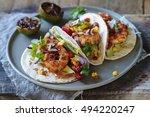 Prawn Tacos With Avocado ...