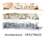 rock paintings  sketch for your ...