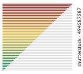 flat bar chart  bar graph ...